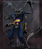 Daemon Prince by drakhenliche