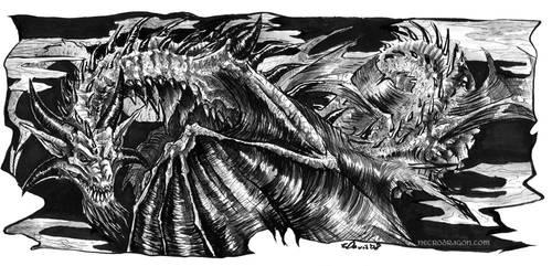 Ink Dragon by drakhenliche