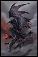Dragon of Despair by drakhenliche