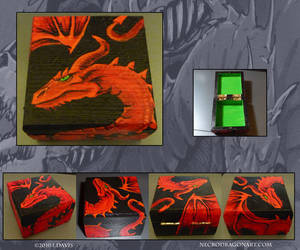 Red Dragon Box by drakhenliche