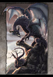 The Twilight Dragon by drakhenliche