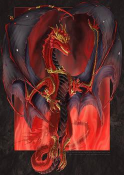 Dragon Queen of Darkness by drakhenliche