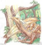Dragon exchange. earth dragon by drakhenliche