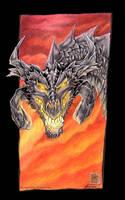 untitled dragon. by drakhenliche