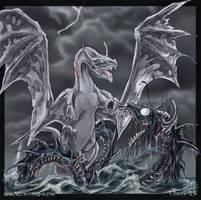 Sea monsters.. by drakhenliche