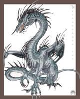 Spiney Dragon by drakhenliche