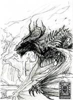 Skulking Dragon by drakhenliche