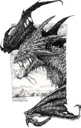 Dragon Portrait ... by drakhenliche