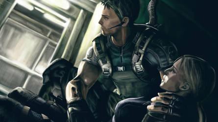 Resident Evil 5 by Silver-Fate