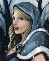 Crystal Maiden - Dota 2 by Silver-Fate
