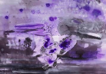 Purple turkey by sinmigo