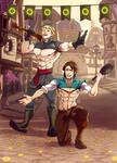 C : Kristoff and Flynn by goyong