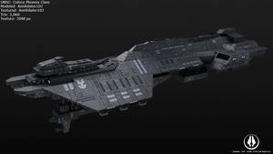 UNSC Colony Phoenix Class by Annihilater102