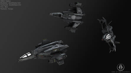 UNSC - Sabre by Annihilater102
