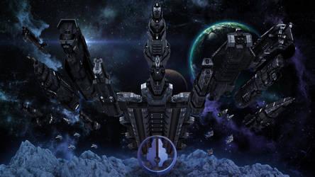 UNSC Fleet Complete by Annihilater102