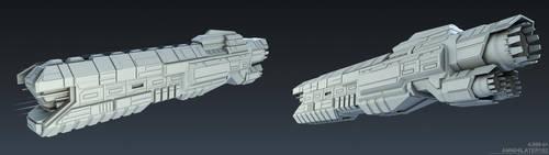 Custom Ship 001 by Annihilater102