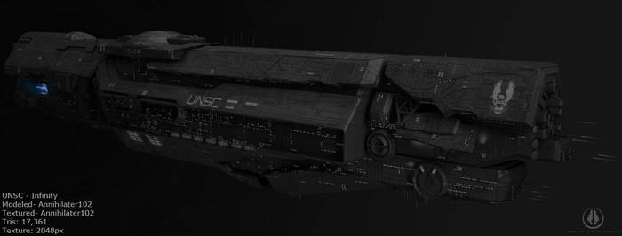 UNSC - Infinity by Annihilater102