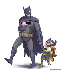 Bat dad! by br50
