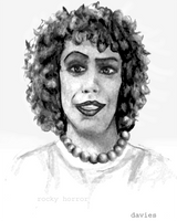 Tim Curry in Rocky Horror by ps2yay