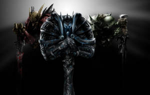 Death Knight Broz by manpoya