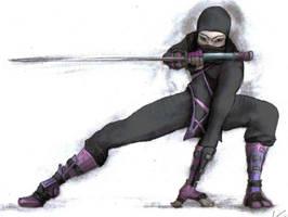 ninja by minibagelqueen