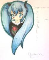 Sayonara - Miku Hatsune by mushroomgirl3