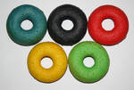 Olympic Doughnuts by behindthesofa