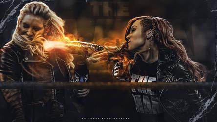 Becky Lynch - Iron Fist by Brightstar2003