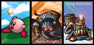 SSB: Kirby All-Stars by Kiarou