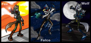 SSB: Star Fox Adventures by Kiarou