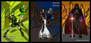 SBB: Legend of Zelda Heros by Kiarou