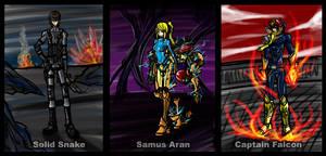 SSB: The Bounty Hunters by Kiarou