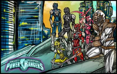 Power Rangers: The Guardians by Kiarou