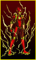 The Flash: The Crimson Comet by Kiarou