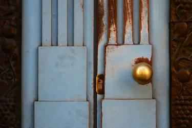 Old Rusty Door by BlackWalrus19