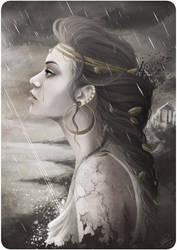 Golden Tear by Nicojam