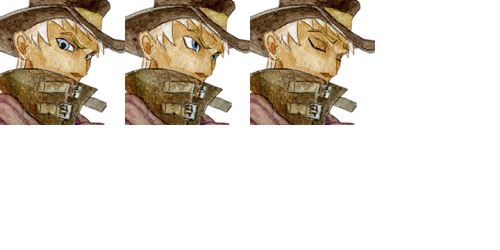 Man in hat face set by SolarSystemInc