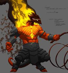 Monsters Demon Major 01+ by danmalone