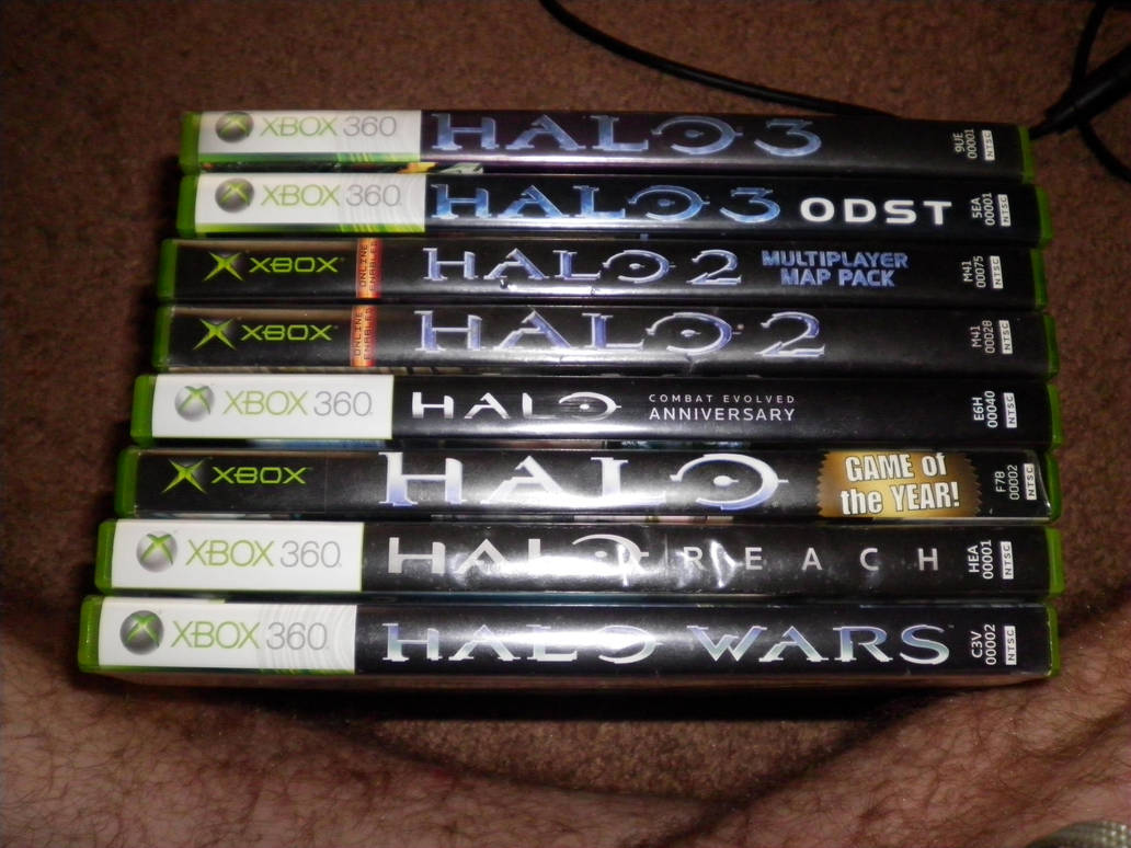 Latest HD All Halo Games In Order - baby sleek