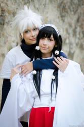 Killua and Alluka by KiraYoshida