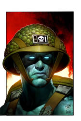 rogue trooper cover idw by ryanbrown-colour