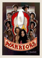 Warriors Print by ryanbrown-colour