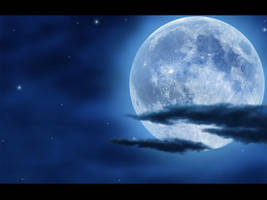 Moon Wallpaper 1024 x 768 by giran23