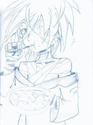 Smile sketch by lisu-c