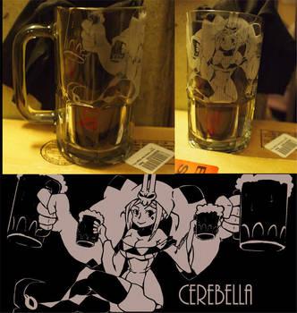 SkullGirls Mugs preview: Cerebella by lisu-c
