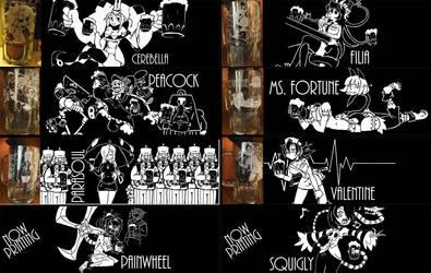 Fanimecon 2013 upcoming set 2: Skullgirls by lisu-c