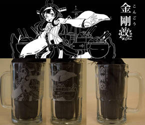 Kantai Collection: Kongou Beer Mug by lisu-c