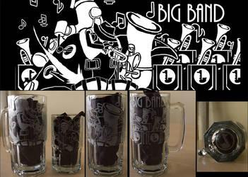 Big Band Big Mug by lisu-c