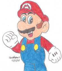 Mario by MarioSimpson1