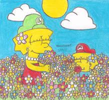 Spring at the Flower Garden by MarioSimpson1